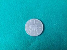SOMALIA FRANCESE 1 Shilling 1984 - Somalië
