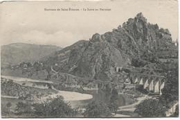 Unieux - La Loire Au Pertuiset - Pont  Brug  Bridge - Autres Communes