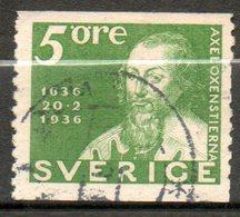 SUEDE Axel Oxensierna 1936 N°235 - Suède