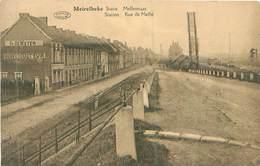 Belgien -Meirelbeke -Statie Mellestraat -Station Rue De Melle-Gel. - Merelbeke