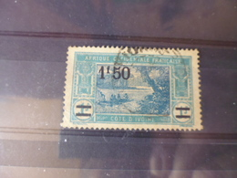 COTE D IVOIRE    YVERT N°77 - Côte-d'Ivoire (1892-1944)