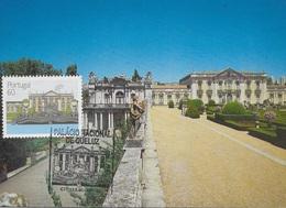 CARTE MAXIMUM - MAXICARD - MAXIMUM KARTE - MAXIMUM CARD - PORTUGAL - PALACE NATIONA DE QUELUZ - OBLITERATION TRIPLE - Architecture