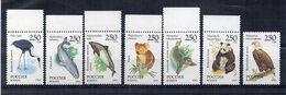 RUSSIA - 1993 - Tematica Animali - 7 Valori - Nuovi ** - 6 Con Bordo Di Foglio - (FDC20271) - 1992-.... Federazione