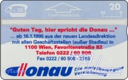"""TWK Österreich Privat: """"Donau Versicherung"""" Gebr. - Autriche"""