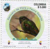 Lote 2019-2a, Colombia, 2019, Sello, Stamp, 2 V, Parques Nacionales Naturales, Park, Bird, Ave - Kolumbien