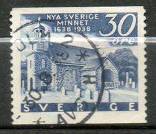 SUEDE  Eglise De Wilmington 1938 N°252 - Suède