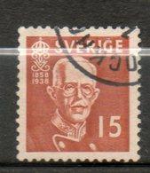 SUEDE  Gustave V 1938 N°255 - Suède