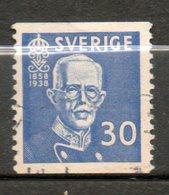 SUEDE  Gustave V 1938 N°256 - Suède