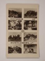 Souvenir Of Montgomery - Montgomeryshire