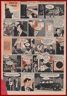 Terreur Sur L'Amérique. En 1938, Orson Wells Adapte Le Roman De HG Welles à La Radio . Bande Dessinée De 1957. - Documents Historiques