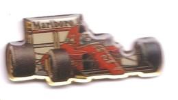V276 Pin's Ferrari N°27 Pub Tabac Marlboro Villeneuve Achat Immédiat - Ferrari