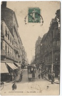 Saint Etienne - Rue Michelet - Tram Luciline - Chocolat Louit - LL - Saint Etienne
