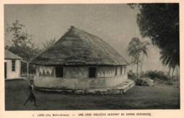 CPA - ILES WALLIS - LANO - UNE CASE INDIGENE Servant De Gd EMINAIRE ... - Wallis And Futuna