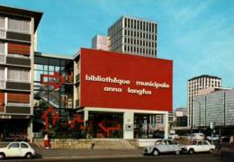 CPM - SARCELLES - BIBLIOTHEQUE MUNICIPALE - Edition Lyna - Sarcelles