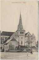 1923 Saint Erme - Eglise  Kerk  Church   Ed Berlizot - Autres Communes
