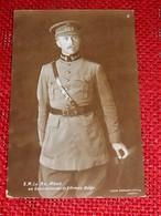 S.M. Le Roi Albert 1er  En Généralissime De L' Armée Belge - Case Reali