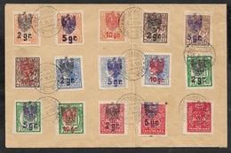 1919 Cover POLAND POLEN Overprint On UKRAINE - BEKAHALOSK POL KORP 6.9.19 - Ucrania