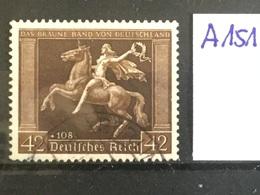 DEUTSCHES REICH 671y GESTEMPELT  A 151 - Alemania
