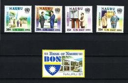 Nauru Nº 228-229/32 Nuevo - Nauru