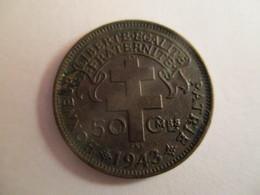 Cameroon: 50 Centimes 1943 - France Libre - Camerun