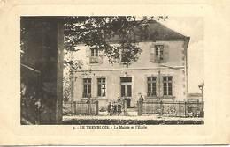 08 - Le Trembois - La Mairie Et L'ecole - France