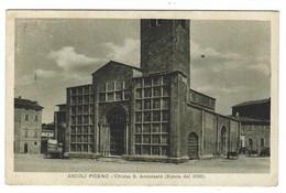 3957 - ASCOLI PICENO CHIESA S ANASTASIO 1934 - Ascoli Piceno