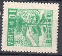 South Korea Mnh ** First Watermark 9 Euros 1953 - Korea, South
