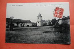 (C1). CPA 15 CANTAL. Le Bex D Ytrac. L église. - Frankrijk