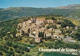 CHATEAUNEUF DE GRASSE VUE GENERALE (dil445) - France