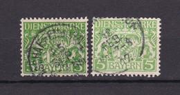 Bayern - 1916/17 - Dienstmarken - Michel Nr. 17 X + W - BPP Geprüft - Gest. - 35 Euro - Bavière