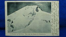 Le Sommet Du Montblanc Vue Prise Des Bosses De Dromadaires Switzerland - Svizzera