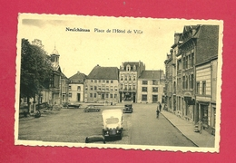 C.P. Neufchâteau = Place  De L'Hôtel  De Ville - Neufchâteau