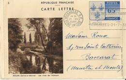 Entier Postal 65c Armoiries N2 Numero 5 Yvon - Entiers Postaux