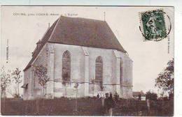 58. COURS Pres De COSNE . COSNE COURS SUR LOIRE . L'EGLISE . Editeur CHEVALIER - Cosne Cours Sur Loire