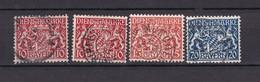 Bayern - 1916/20 - Dienstmarken - Michel Nr. 26/28 - BPP Geprüft - Gest. - Bavière