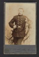 CDV * SOLDAT * SOLDAAT * SOLDIER * WWI * PHOTO VAN DE CRUYS TOURNAI * DOORNIK - Guerre, Militaire