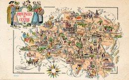 Provinces Du Centre    Cpa  Edit Jean Pierre  Paris - Maps