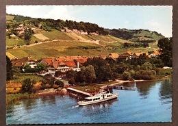 Praz/ Vully Hotel Bel Air/ Bateau/ Flugaufnahme - FR Fribourg