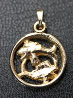 """Médaille Pendentif """" Signe Du Zodiaque Du Poisson """" Zodiac Medal - Godsdienst & Esoterisme"""