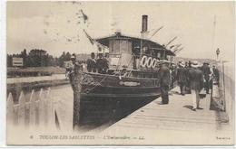 83.  LA SEYNE SUR MER.   LES SABLETTES . L EMBARCADERE - La Seyne-sur-Mer