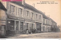 77 . N° 101274  .mouroux .pas Courante .maison Gondelier . Vins Hotels Et Tabac    . - Sonstige Gemeinden