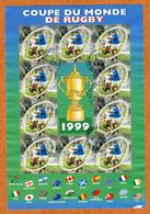 N°YT 26 - Coupe Du Monde De Rugby 1999 - Blocs & Feuillets