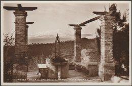 Villa San Vincenzo, Taormina, C.1920s - Bucaro Foto Cartolina - Italia