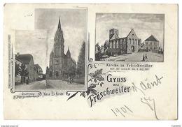 67 - BAS-RHIN - Lot De 5 CPA - Fröschweiler - Wörth Denkmal - Morsbronn Denkmal - Mac-Mahon Baum - 1901 - Non Classés