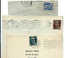 3 Lettres 1945/1946/1947 - Marianne Gandon - Francia