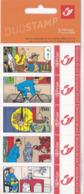 Duostamps Duostamp Hergé Tintin Bande Dessinée Le Lotus Bleu - Private Stamps