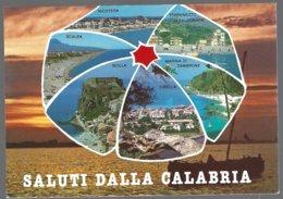 CP PG Rimini 9413F -Saluti Dalla  Calabria, Vedutine. Non Circulé - Non Classés
