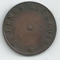 Monnaie Nécessité Liege-thermes Liegeois -1f - Monetary / Of Necessity