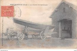 59 . N° 103012 .fort Mardyck .la Station De Sauvetage .bateau . - France