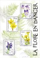 France Oblitération Cachet à Date BF N° F 5322 - Nature - Flore En Danger - Usados